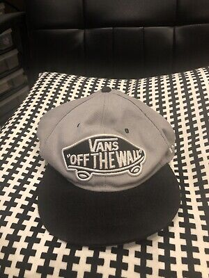 Vans Off The Wall New Era SnapBack, Grey With Black Peak, Great Condition!