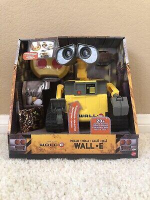 WALL-E RC Remote Control Interactive ROBOT Lights Sounds Disney Pixar Movie 2020