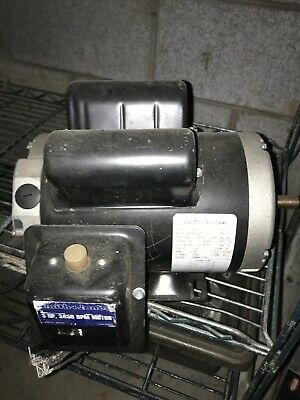 Electric Motor Smith James 3 Hp 1 Ph 230 Volts