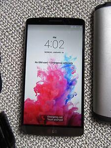 UNLOCKED LG G3 -32GB STORAGE excellent working condition