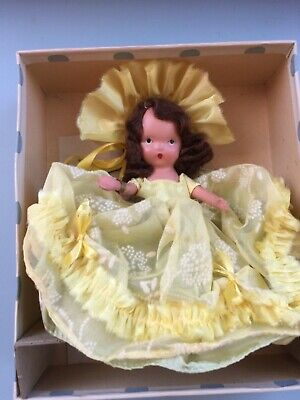 1940's NANCY ANN STORYBOOK BISQUE DOLL, - DAFFY-DOWN-DILLY, #171-Beautiful