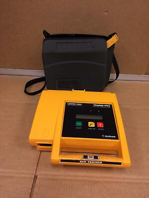 Medtronic Physio-control Lifepak 500t Aed Defibrillator With Case Battery Pack
