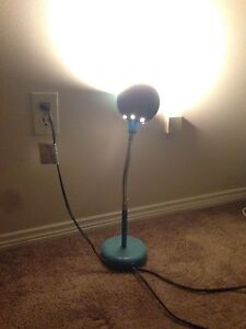 Blue table lamp for sale