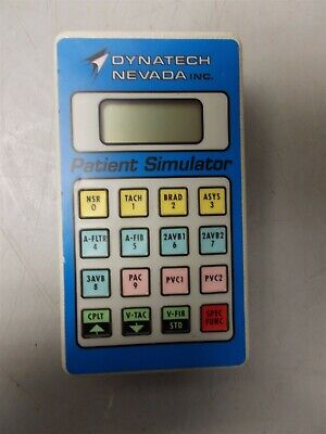 Dynatech Nevada Datasim 6100 Patient Simulator Handheld Keypad