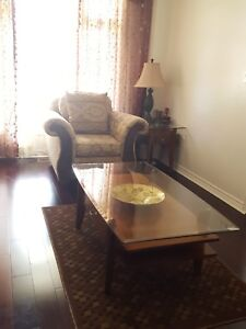 Center table, side table and sofa table