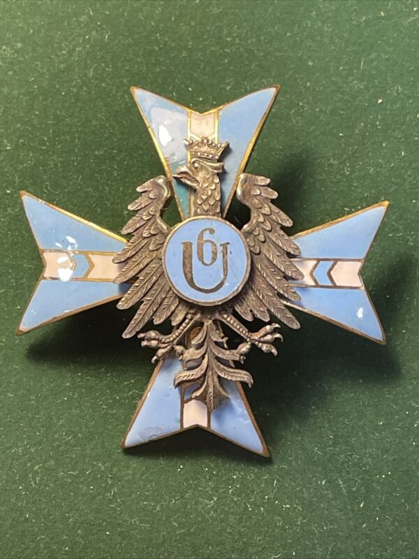 POLAND. Regiment Badge Of the 7th  Ulansky Lubelsky Regiment (Copy 1950th).