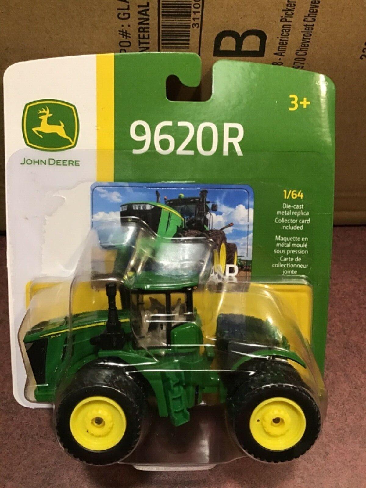 ERTL 1:64 John Deere 9620R 4WD Tractor   w/ triples