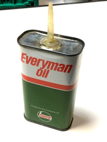 Rare Castrol Everyman Oil Can Tin - Domestic Oil 250cc