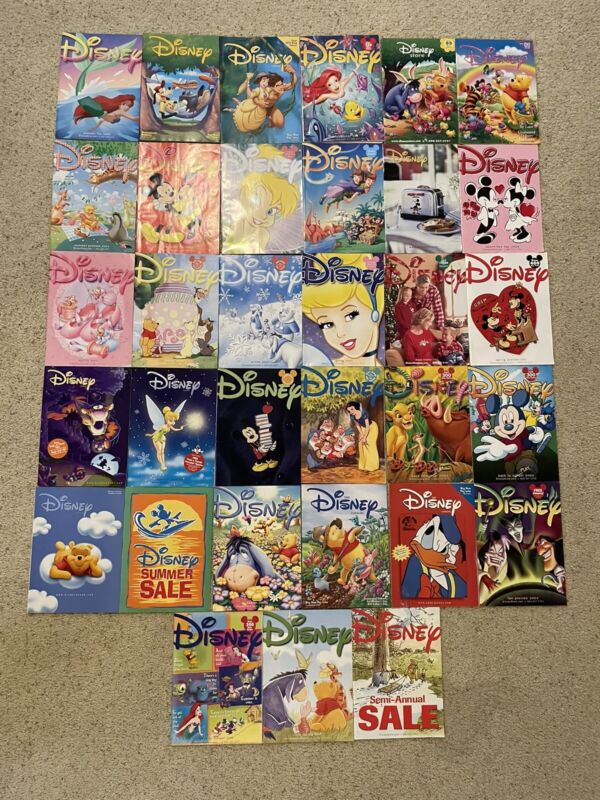 Disney Catalog lot 33 issues