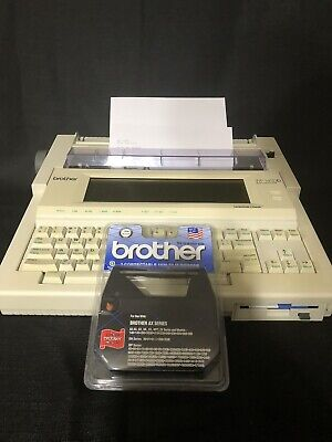 Brother Wp-1400d Word Processor Typewriter Tested And Works Great W New Film