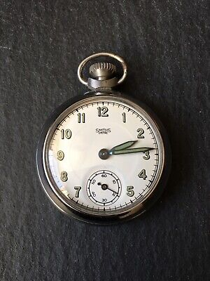Collectible Vintage Gents Men's Smiths Empire Fob / Pocket Watch - Working
