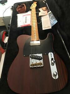 Fender American Limited Edition Telecaster VHR 50s Redwood
