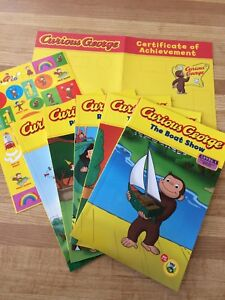 Curious George® Reading Set (5 books/stickers/cert.)