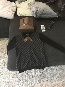 Louis Vuitton graphite sweater Kellyville Ridge Blacktown Area Preview