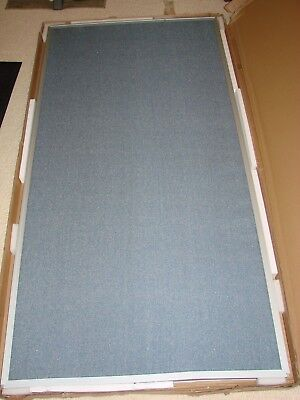 Best-rite 72 X 36 Inch Standard Modular Divider Panel Blue Fabric 66218-87