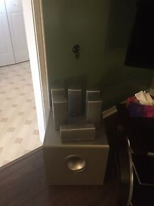JBL speakers with powered sub woofer