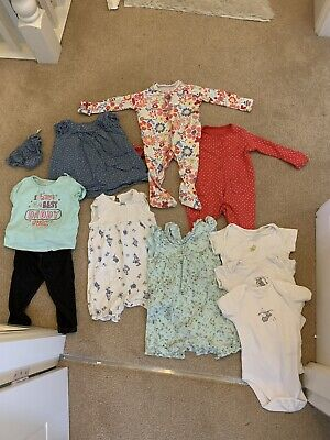 Baby Girl Clothes Bundle Size 6-9 Months Various Items