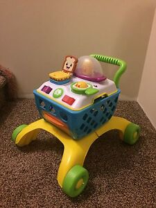 Toy grocery cart