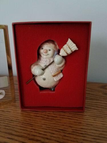 Lenox Jolly Snowman ornament 6026629