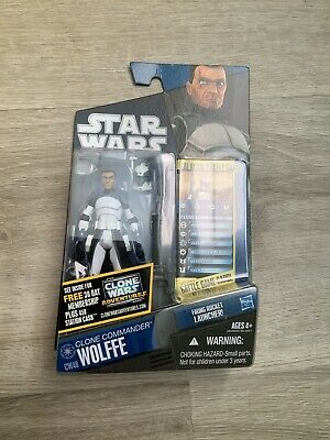 Hasbro Star Wars The Clone Wars Clone Commander Wolffe Action Figure