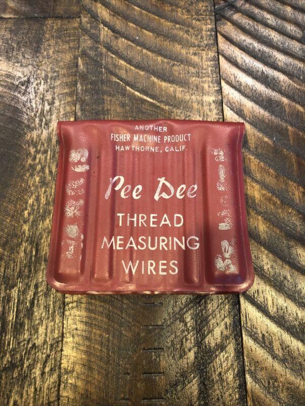Pee Dee Thread Measuring Wires