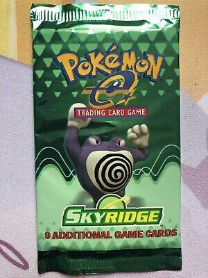 Poliwrath Art Skyridge Sealed Booster Pack Mint Pokemon