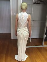 Carla zampatti porcelain hot the ophelia gown fit 6-8 Brassall Ipswich City Preview