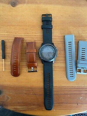 Garmin fenix 3 Sapphire Multisport Training GPS Watch - 010-01338-20