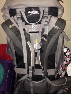 Vango Contour 60+10 Rucksack for sale North Melbourne Melbourne City Preview