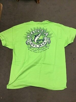 Costa Del Mar Classic T Shirt Lime Short Sleeve Brand New Several Sizes