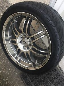 4 lug universal fit rims with low pro tires
