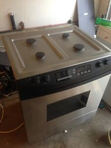 Gas stove electric oven