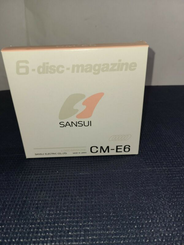Sansui 6 Disc Magazine CM-E6 Disc Changer Brand New