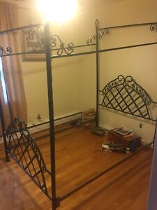 Double canopy bed. Moving sale