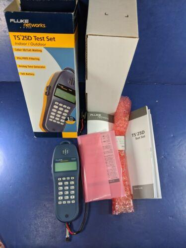 Brand New Fluke TS25D Test Set, 346A Plug, Original Box