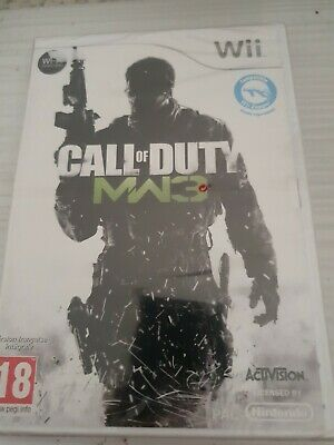 CALL of DUTY MODERN WARFARE 3 _ Wii NINTENDO _ VF _...