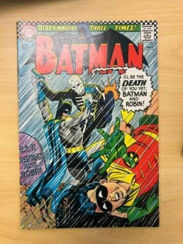 Batman #180 Silver Age First Appearance of Death-Man
