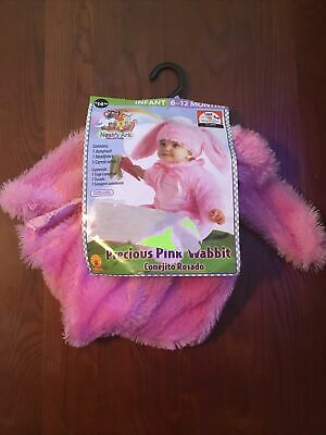 Infant Precious Pink Wabbit Costume Pink Bunny Rabbit Easter Halloween Rubies