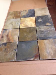 slate tile multi colour