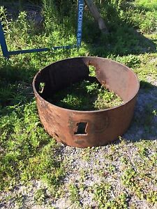 Harley Davidson fire pit/fire ring