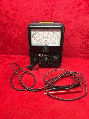 Vintage Simpson 260 Series 6p Analog Volt-ohm-milliammeter Vom Multi-meter Works
