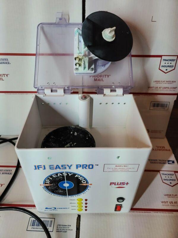JFJ Easy Pro Machine For Parts. Hinge broken on disc holder READ DESCRIPTION!!!