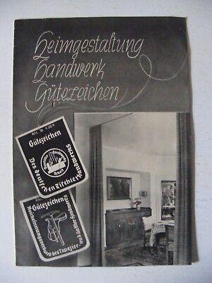 4d08a9e1e9c739 Antiquariat alter Möbelkatalog Prospekt Katalog Möbel vor 2.WK Werbung  Broschüre