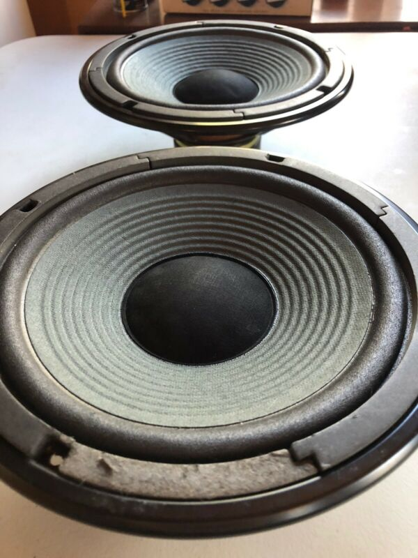 Pair of Yamaha NS-A635A Original Woofer. Part # 110006. Tested. Read More Below.