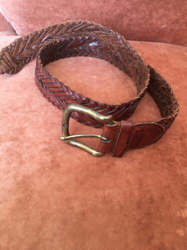 Magnifique ceinture en cuir tresse marc o polo