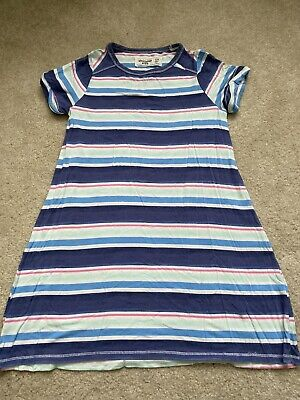 Abercrombie Kids Girls Size 7/8 Striped T-shirt Dress Soft