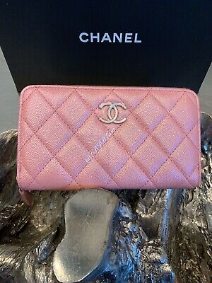 49be2e2f07dd $1,325.00 USD Buy It Now. NWT CHANEL 19S IRIDESCENT PINK CAVIAR ...