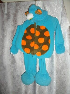 BLUE FUZZY MONSTER BY OLD NAVY-SIZE 4T-5T (Fuzzy Monster Kostüm)