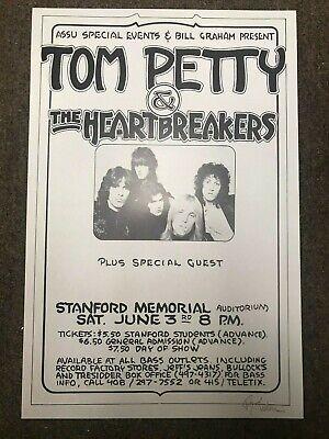Tom Petty /& Heartbreakers Santa Monica Civic NYE Poster 1978 Wide Format 24x36