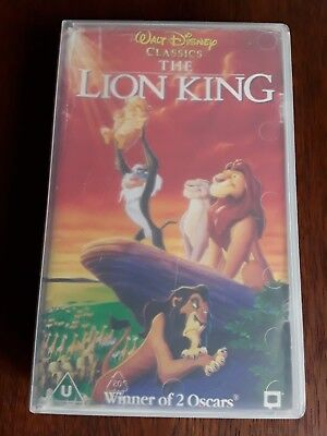 VHS Walt Disney Classics The Lion King englische Version